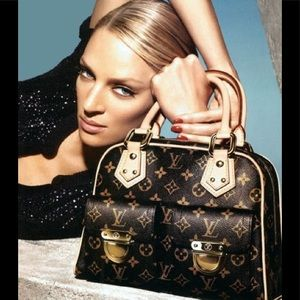 Louis Vuitton monogram Manhattan handbag